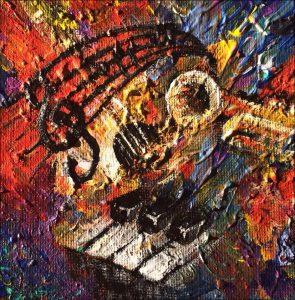 Music series painting