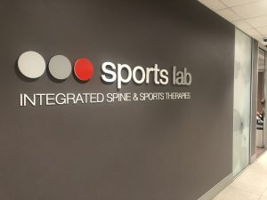 Sports Lab Drummoyne sign